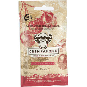Chimpanzee Gunpowder Energy Drink Beutel Wildkirsche 20 x 30g